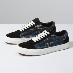 Vans Old Skool Plaid Mix Skate Shoe